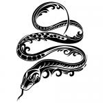 Schlange der Verführung