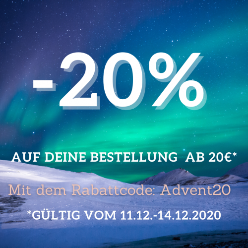 20% Adventsrabatt